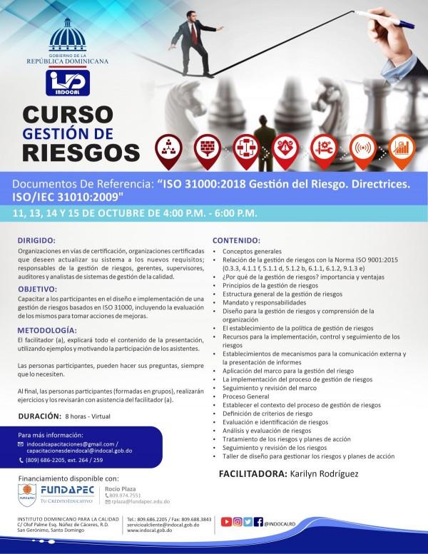 CGR - GESTIÓN DE RIESGO