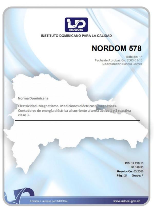NORDOM 578 - ELECTRICIDAD. MAGNETISMO. MEDICIONES ELÉCTRICAS Y MAGNÉTICAS. CONTADORES DE ENERGÍA ELÉCTRICA AL CORRIENTE ALTERNA ACTIVA 1 Y 2 REACTIVA CLASE 3.