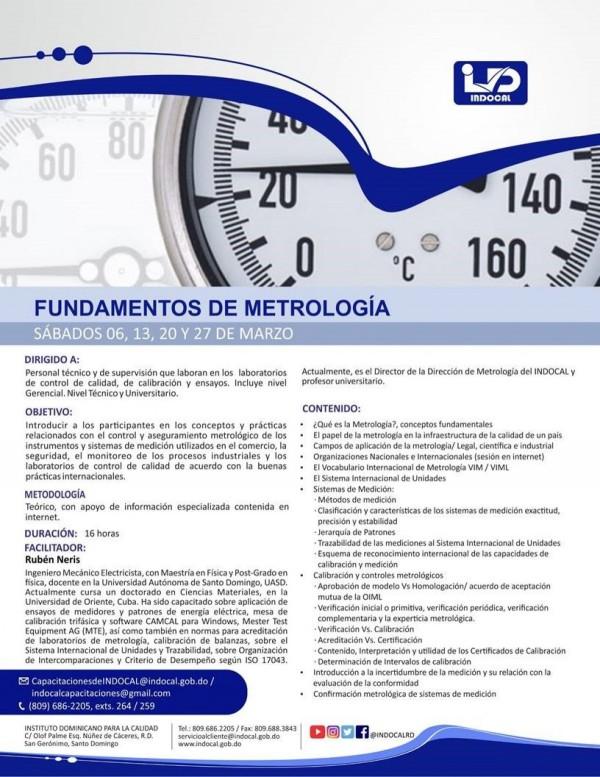 CFM21 - FUNDAMENTOS DE METROLOGÍA.